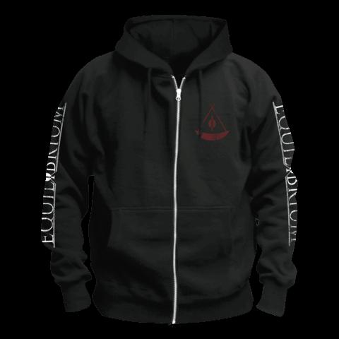 √SKULL von Equilibrium - Hooded jacket jetzt im Equilibrium Shop